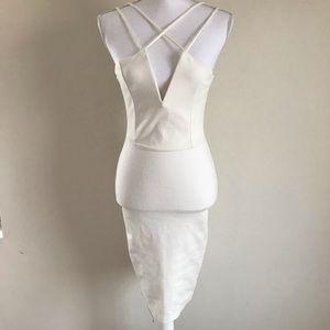 WINDSOR ivory bodycon dress - size S